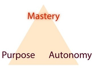 Triangle: Mastery, Autonomy, Purpose